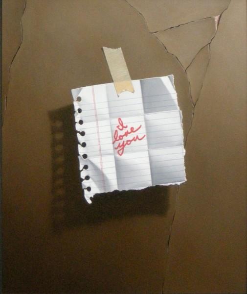 Otto Duecker, I Love You Note (beige)