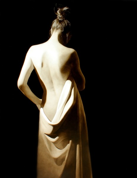 Toby Boothman, Girl with White Drape
