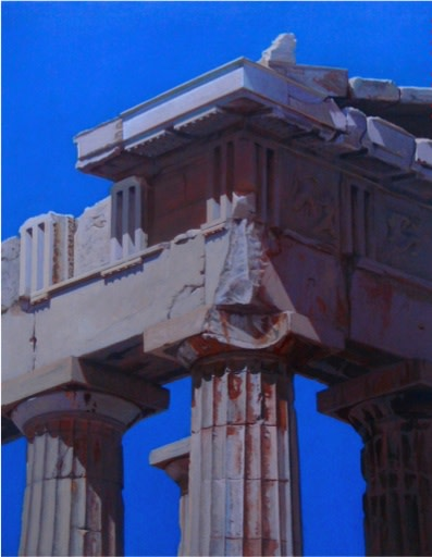 Carl Laubin, CORNER OF THE PARTHENON