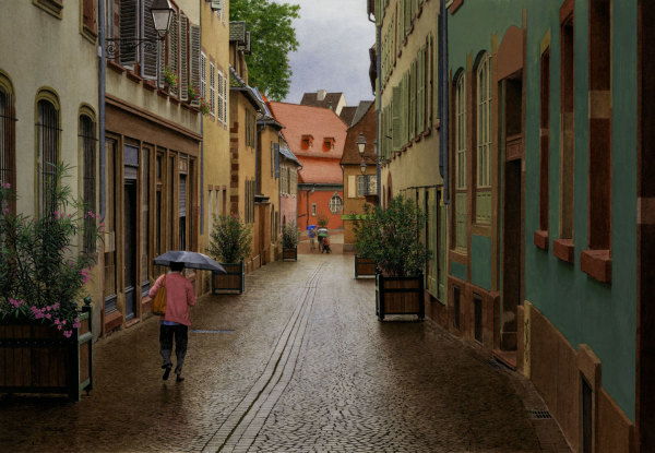 Steven Kozar, Old World Rainy Morning