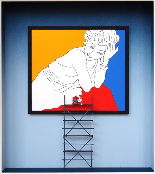 Volker Kuhn, Homage to Matisse (frame)