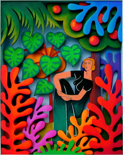 Volker Kuhn, The Garden of Matisse