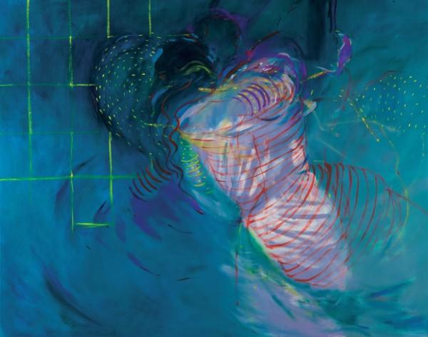 Rashid Al Khalifa, Abstract Figurative IV, 1990