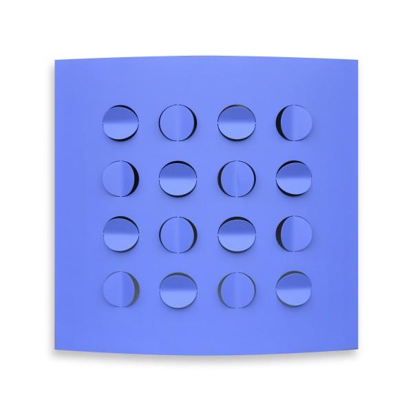 Rashid Al Khalifa, Blue Folds, 2015