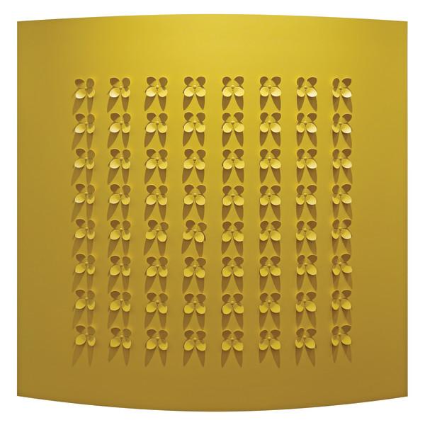 Rashid Al Khalifa, Flutter (Yellow), 2017