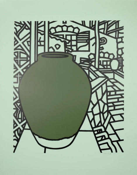 Patrick Caulfield, Jar (Green), 1974