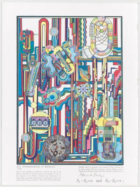 Eduardo Paolozzi, Turing Suite 7, 2000