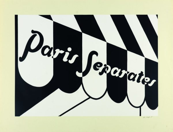 Patrick Caulfield, Paris Separates, 1973