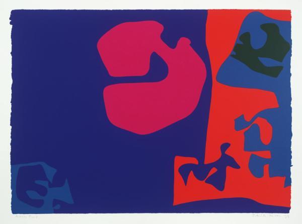 Patrick Heron, January 1973: Plate 17, 1973