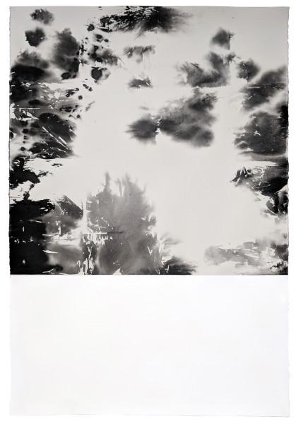 Helene Le Chatelier, Polaroid ink 4, 2018