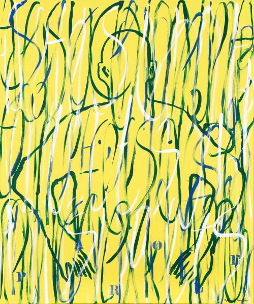 Gérard Charrière, Hidden: Yellow, 2016