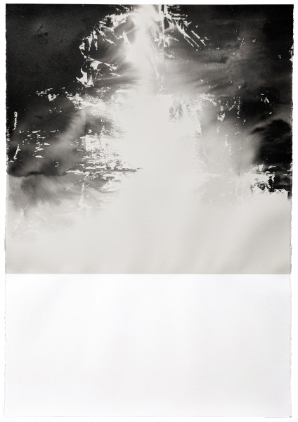 Helene Le Chatelier, Polaroid ink 5, 2018