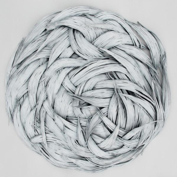 Oksana Bergen, Alive (Black/White) Small, 2019