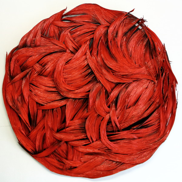 Oksana Bergen, Alive (Red) Large, 2019