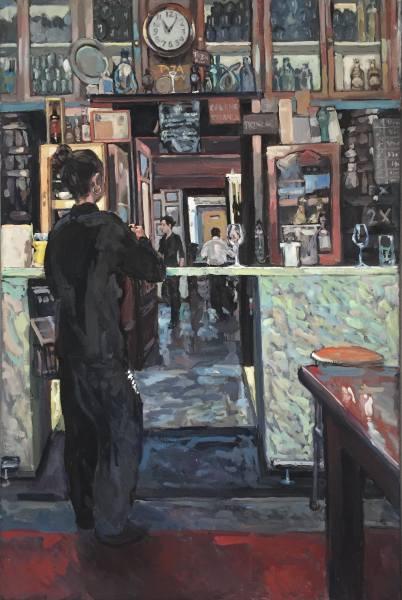 Hector McDonnell RUA, Girl at the Bar, Valencia