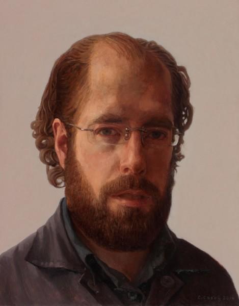 Comhghall Casey, Self Portrait, 2014