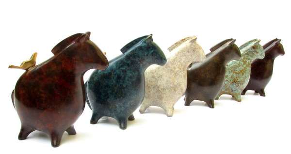 Stephanie Hess, Pilgrim Herd (blue)