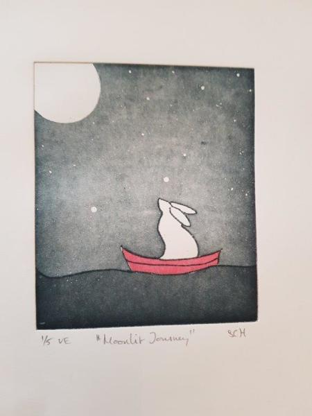 Stephanie Hess, Moonlit Journey