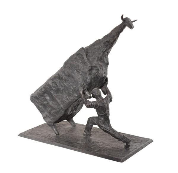 John Kelly, Man Lifting Cow