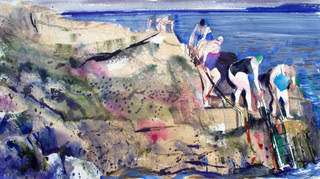 John Short, Women Bathers (Winter), Forty foot, Sandycove, County Dublin