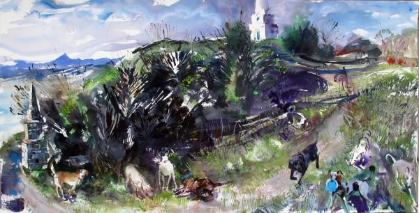 John Short, Dogs on Killiney Hill