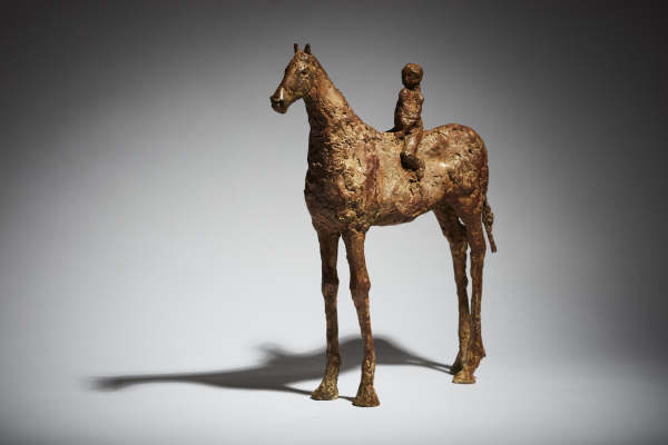 Cheryl Brown, Brown Horse and Rider