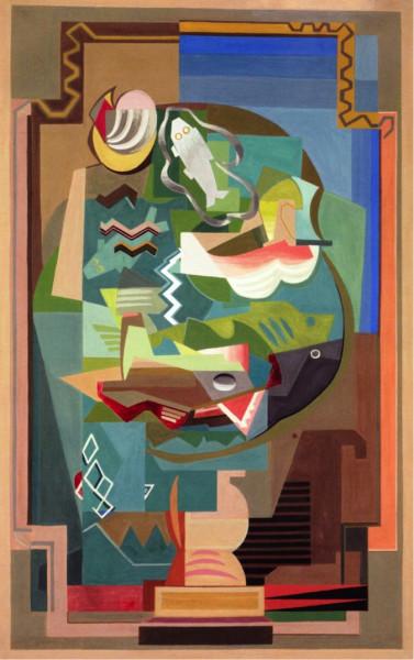 Louis Marcoussis, La Table, 1925-1927