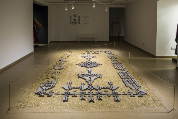 naqsh collective, The Bride's Rug , 2017