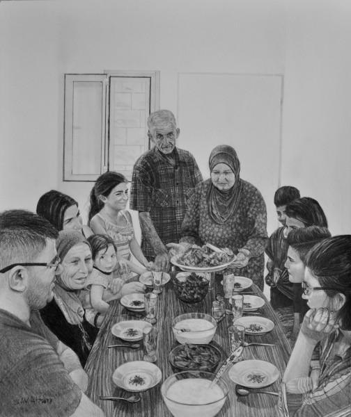Samah Shihadi, Mansaf, 2018