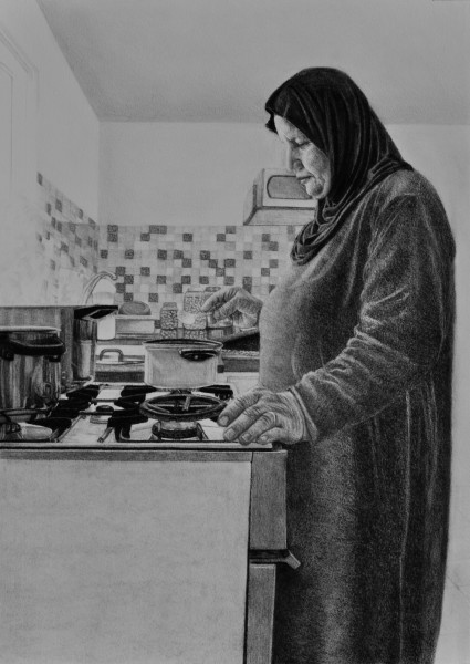 Samah Shihadi, Cooking Series , 2018