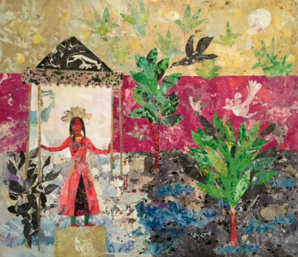 Mohamed Abla, The Royal Garden, 2017