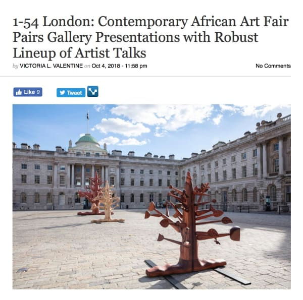 1-54 London: Contemporary African Art Fair Pairs Gallery Presentations with Robust Lineup of Artist Talks | Culture Type | Image