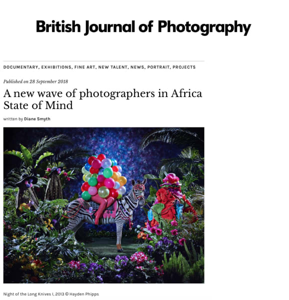 A new wave of photographers in Africa State of Mind