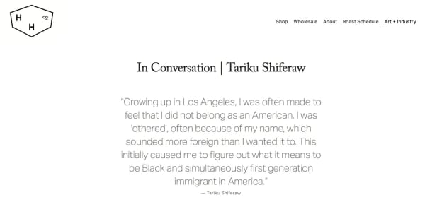 In Conversation | Tariku Shiferaw Image