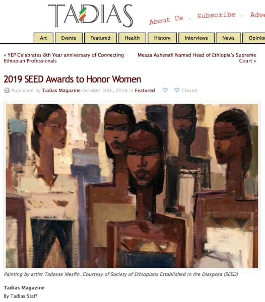 2019 SEED Awards to Honor Women | Main Image