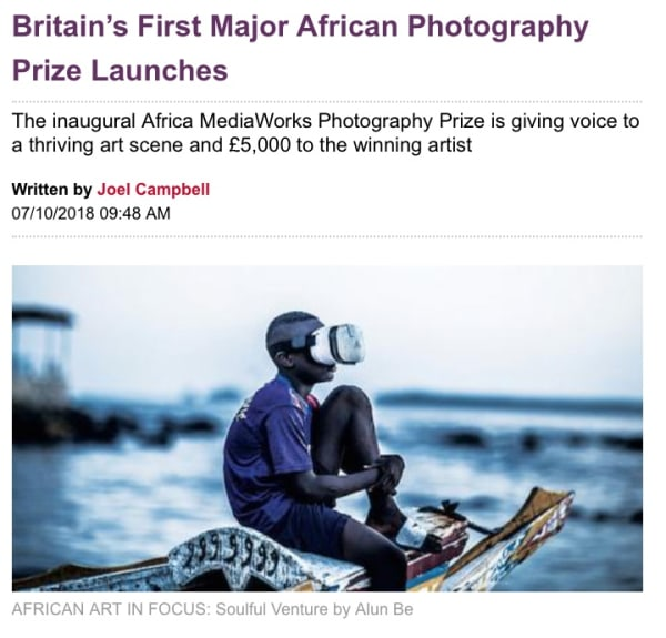Britain's First Major African Photography Prize Launches | Main Image