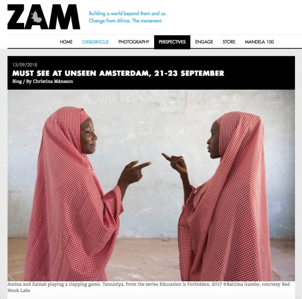Must see at Unseen Amsterdam, 21-23 September | Main Image
