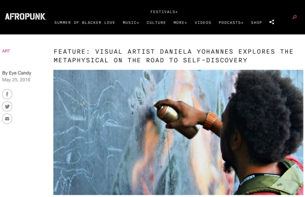 Visual Artist Daniela Yohannes Explores the Metaphysical on the Road to self-discovery