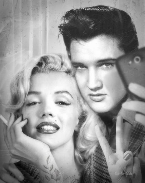 JJ Adams, Elvis & Marilyn Photobooth, 2019