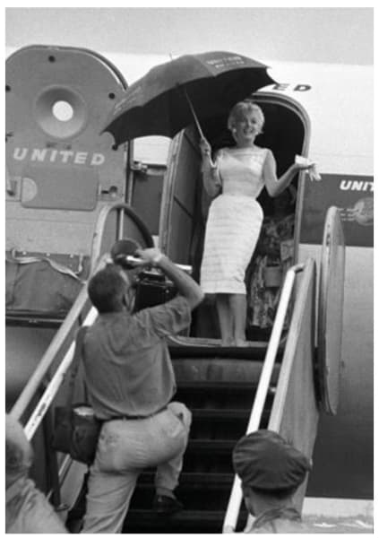 Promotional Tour, Illinois, 1955