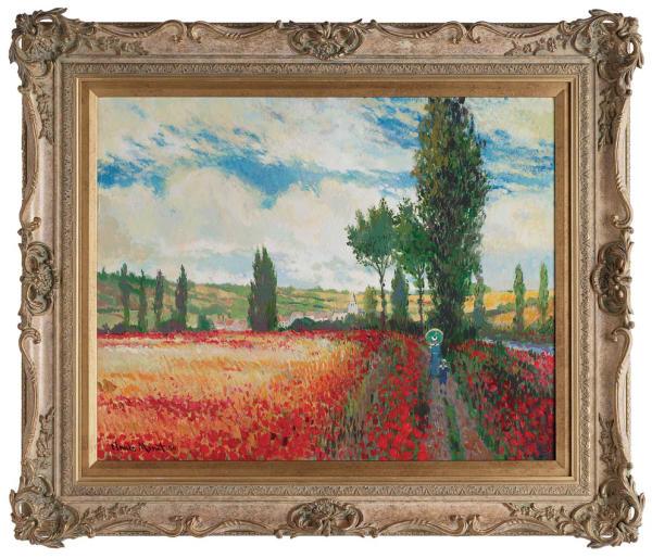 Summer at Vetheuil - Original