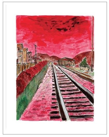 Train Tracks (medium format)