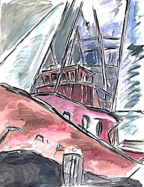 Bob Dylan, Dry Dock - original , 2008 - CALL FOR PRICE