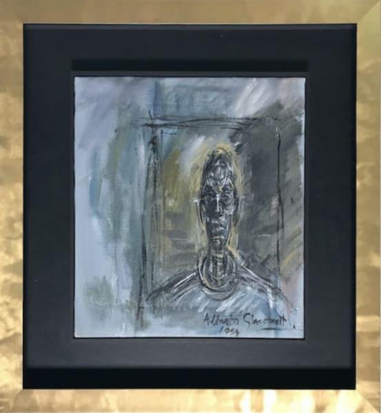 Bust portrait Diego Giacometti - original