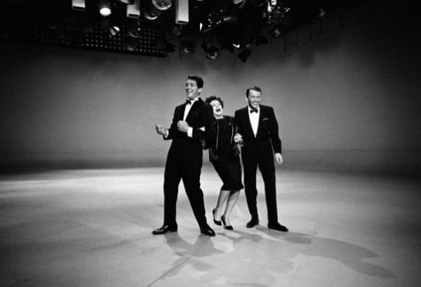 Dean Martin, Judy Garland and Frank Sinatra