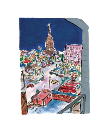 Bell Tower In Stockholm - IN STOCK - CALL FOR PRICE