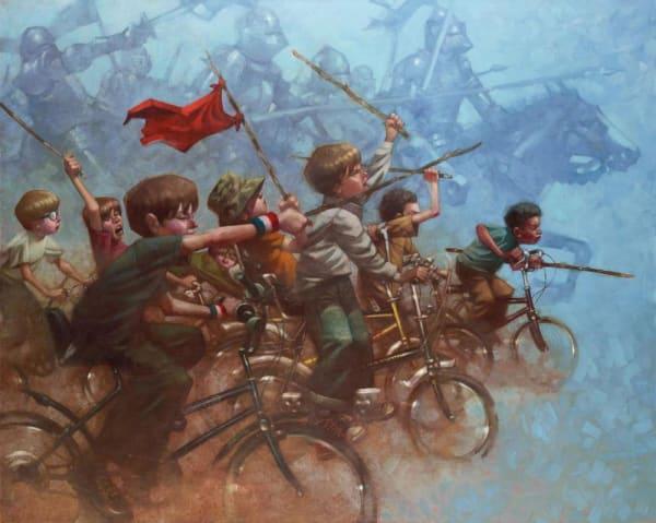 Swords Of A Thousand Men - canvas edition