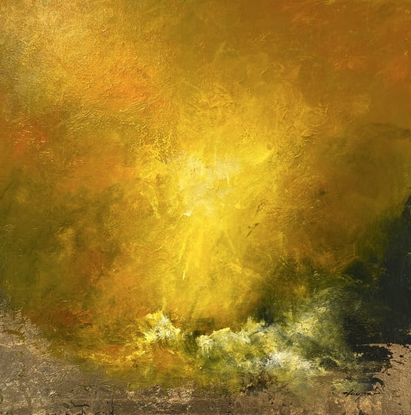 Sea of Gold (100cm), 2021