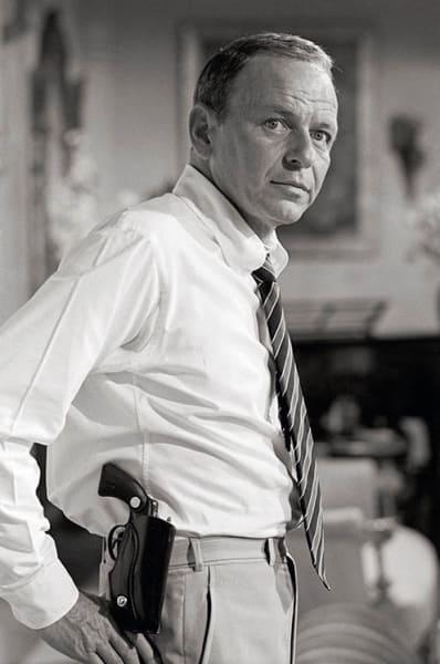 Frank Sinatra with Gun, 1968
