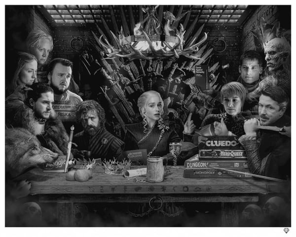 Board-Game of Thrones - Colour - SALE